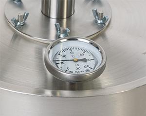 Биметаллический термометр 2